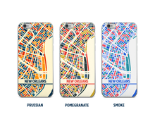 New Orleans Map Phone Case - iPhone 5, iPhone 6, iPhone 7