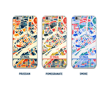 St Paul Map Phone Case - iPhone 5, iPhone 6, iPhone 7