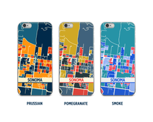 Sonoma Map Phone Case - iPhone 5, iPhone 6, iPhone 7