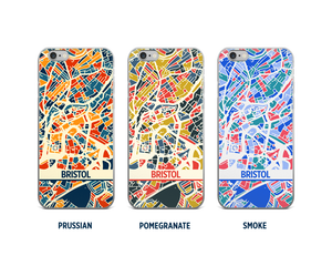Bristol Map Phone Case - iPhone 5, iPhone 6, iPhone 7