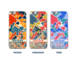 State College Map Phone Case - iPhone 5, iPhone 6, iPhone 7