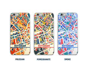 Rotterdam Map Phone Case - iPhone 5, iPhone 6, iPhone 7