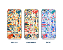 Damascus Map Phone Case - iPhone 5, iPhone 6, iPhone 7