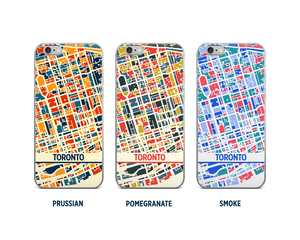 Toronto Map Phone Case - iPhone 5, iPhone 6, iPhone 7