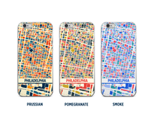 Philadelphia Map Phone Case - iPhone 5, iPhone 6, iPhone 7