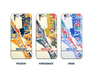 Siesta Key Map Phone Case - iPhone 5, iPhone 6, iPhone 7