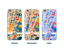Quito Map Phone Case - iPhone 5, iPhone 6, iPhone 7