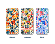 Kathmandu Map Phone Case - iPhone 5, iPhone 6, iPhone 7