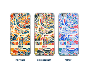 Bern Map Phone Case - iPhone 5, iPhone 6, iPhone 7