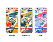 Caracas Map Phone Case - iPhone 5, iPhone 6, iPhone 7