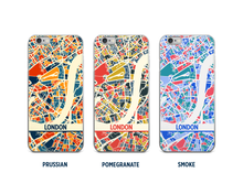 London Map Phone Case - iPhone 5, iPhone 6, iPhone 7
