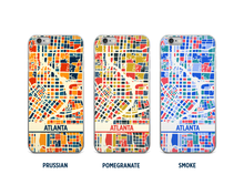 Atlanta Map Phone Case - iPhone 5, iPhone 6, iPhone 7