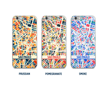 Sao Paulo Map Phone Case - iPhone 5, iPhone 6, iPhone 7
