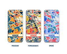 Nairobi Map Phone Case - iPhone 5, iPhone 6, iPhone 7