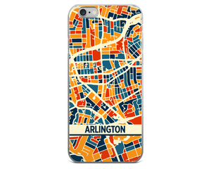 Arlington VA Map Phone Case - Arlington VA iPhone Case - iPhone 6 Case - iPhone 6 Plus Case