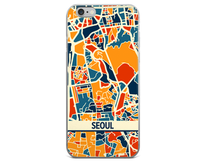 Seoul Map Phone Case - Seoul iPhone Case - iPhone 6 Case - iPhone 6 Plus Case