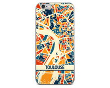 Toulouse Map Phone Case - Toulouse iPhone Case - iPhone 6 Case - iPhone 6 Plus Case
