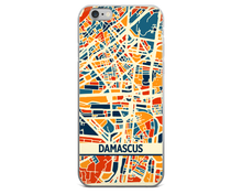 Damascus Map Phone Case - Damascus iPhone Case - iPhone 6 Case - iPhone 6 Plus Case