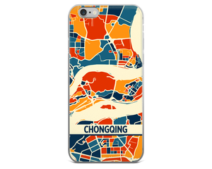 Chongqing Map Phone Case - Chongqing iPhone Case - iPhone 6 Case - iPhone 6 Plus Case