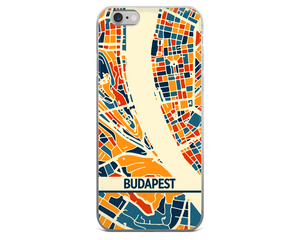 Budapest Map Phone Case - Budapest iPhone Case - iPhone 6 Case - iPhone 6 Plus Case