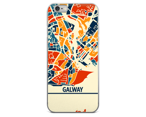 Galway Map Phone Case - Galway iPhone Case - iPhone 6 Case - iPhone 6 Plus Case