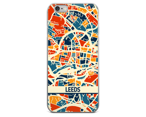 Leeds Map Phone Case - Leeds iPhone Case - iPhone 6 Case - iPhone 6 Plus Case