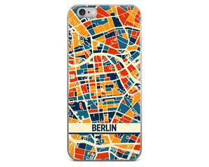 Berlin Map Phone Case - Berlin iPhone Case - iPhone 6 Case - iPhone 6 Plus Case