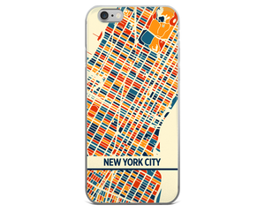 New York City Map Phone Case - New York City iPhone Case - iPhone 6 Case - iPhone 6 Plus Case