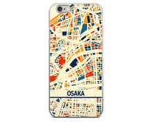 Osaka Map Phone Case - Osaka iPhone Case - iPhone 6 Case - iPhone 6 Plus Case