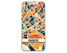 Karachi Map Phone Case - Karachi iPhone Case - iPhone 6 Case - iPhone 6 Plus Case