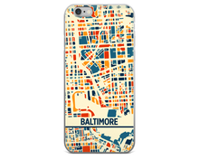 Baltimore Map Phone Case - Baltimore iPhone Case - iPhone 6 Case - iPhone 6 Plus Case