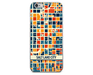 Salt Lake City Map Phone Case - Salt Lake City iPhone Case - iPhone 6 Case - iPhone 6 Plus Case