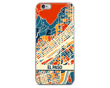El Paso Map Phone Case - El Paso iPhone Case - iPhone 6 Case - iPhone 6 Plus Case