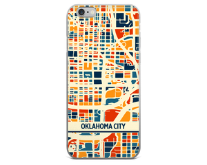 Oklahoma City Map Phone Case - Oklahoma City iPhone Case - iPhone 6 Case - iPhone 6 Plus Case