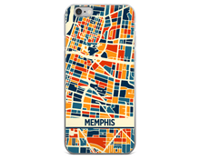 Memphis Map Phone Case - Memphis iPhone Case - iPhone 6 Case - iPhone 6 Plus Case