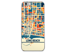Long Beach Map Phone Case - Long Beach iPhone Case - iPhone 6 Case - iPhone 6 Plus Case