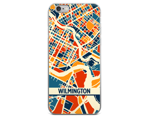 Wilmington DE Map Phone Case - Wilmington DE iPhone Case - iPhone 6 Case - iPhone 6 Plus Case