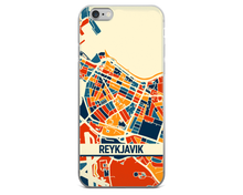 Reykjavik Map Phone Case - Reykjavik iPhone Case - iPhone 6 Case - iPhone 6 Plus Case