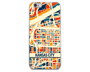Kansas City Map Phone Case - Kansas City iPhone Case - iPhone 6 Case - iPhone 6 Plus Case