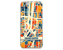 Grand Rapids Map Phone Case - Grand Rapids iPhone Case - iPhone 6 Case - iPhone 6 Plus Case