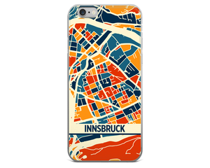 Innsbruck Map Phone Case - Innsbruck iPhone Case - iPhone 6 Case - iPhone 6 Plus Case