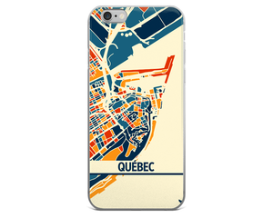 Quebec Map Phone Case - Quebec iPhone Case - iPhone 6 Case - iPhone 6 Plus Case