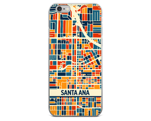 Santa Ana Map Phone Case - Santa Ana iPhone Case - iPhone 6 Case - iPhone 6 Plus Case