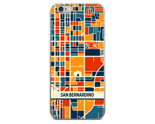 San Bernardino Map Phone Case - San Bernardino iPhone Case - iPhone 6 Case - iPhone 6 Plus Case