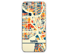 Tampa Map Phone Case - Tampa iPhone Case - iPhone 6 Case - iPhone 6 Plus Case
