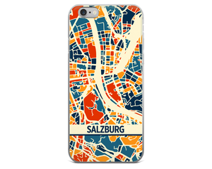 Salzburg Map Phone Case - Salzburg iPhone Case - iPhone 6 Case - iPhone 6 Plus Case