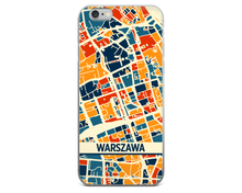 Warsaw Map Phone Case - Warsaw iPhone Case - iPhone 6 Case - iPhone 6 Plus Case