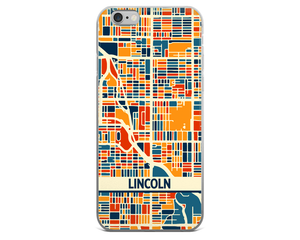 Lincoln Map Phone Case - Lincoln iPhone Case - iPhone 6 Case - iPhone 6 Plus Case