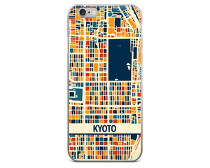 Kyoto Map Phone Case - Kyoto iPhone Case - iPhone 6 Case - iPhone 6 Plus Case