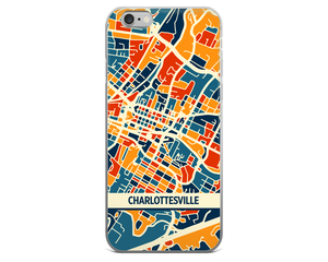 Charlottesville Map Phone Case - Charlottesville iPhone Case - iPhone 6 Case - iPhone 6 Plus Case